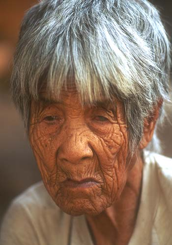Ninety Year Old Matriarch, The Philippines
